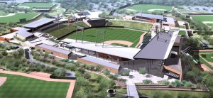 Salt River Fields at Talking Stick is one of the newest facility for MLB's Cactus League Spring Training