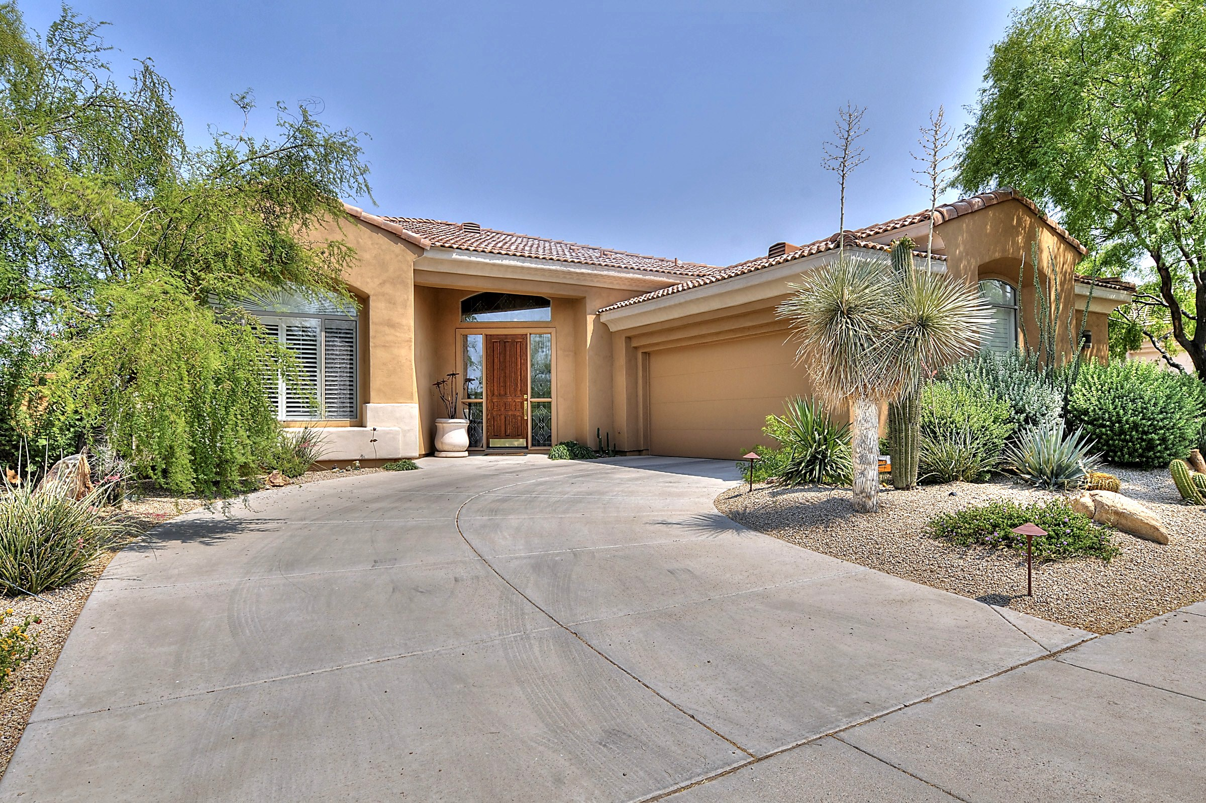 Homes In Sunridge Canyon The Sonoran Life Style