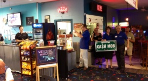 """PINZ Bowling Center Welcomes the """"Cash Mobsters"""""""