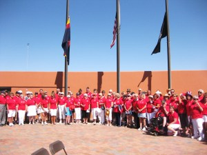 Veterans Day, 2011:  A BIG RED Celebration!