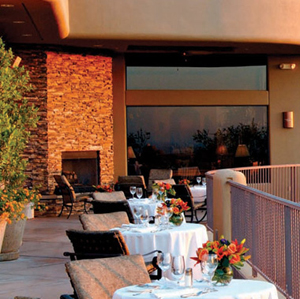 Alchemy Restaurant at Copperwynd offers the best Jazz Patio in the Valley!