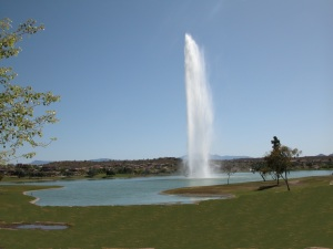 The World Famous Fountain at Fountain Hills, AZ