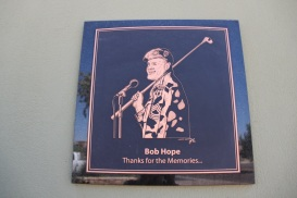 A tribute to Bob Hope is one of the featured sculptures at the Fountain Hills Veterans Memorial
