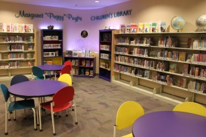 Kids Reading Room at Library