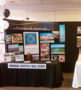 Fountain Hills Business Expo Sonoran Lifestyle Real Estate Booth