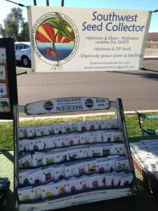Southwest Seed Collector at Farmers Market