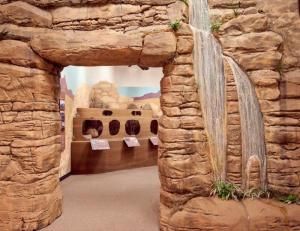 The River of Time Museum provides a spectacular look back at the area history.