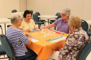 Mahjong at Community Center