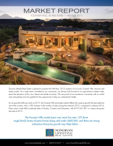 Get the full page report at      .  Or, if you'd like more information and some of the data that makes up this report, contact your Sonoran Lifestyle Associate!