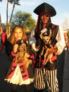 Pets and Their People Parade at Halloween in the Hills!
