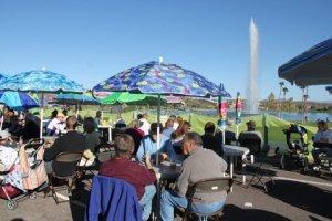 9 Beer Garten at Fair
