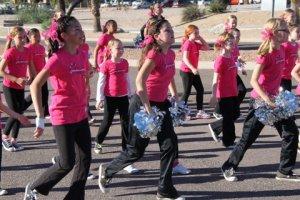 dance troop parade