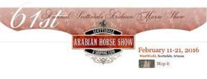 logo arabian horse show
