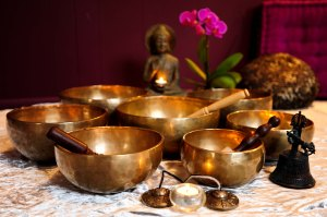 July #15Tibetian Bowl Hatha Yoga